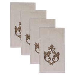 Avanti Monico Hemmed 4-pc. Fingertip Towel Set