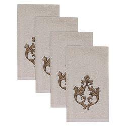 Avanti Monico Hemmed 4-pc. Fingertip Towel Set
