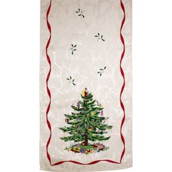 Avanti Spode Red Tree Table Runner