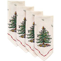 Avanti 4-pk. Spode Red Tree Napkins