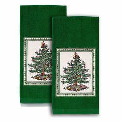 Avanti 2-pc. Spode Green Tree Kitchen Towel Set