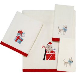 Avanti Holiday Dogs Towel Collection