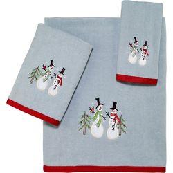 Avanti Tall Snowmen Towel Collection