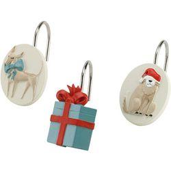 Avanti Holiday Dogs 12-pc. Shower Curtain Hooks
