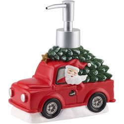 Avanti Mr. Christmas Truck Santa Musical Lotion Pump