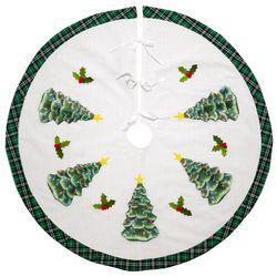 Mr. Christmas Xmas Tree Skirt