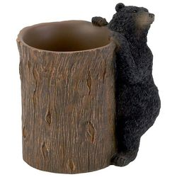 Avanti Black Bear Lodge Bathroom Tumbler