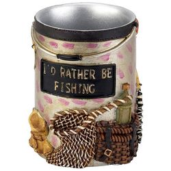 Avanti Rather Be Fishing Bathroom Tumbler