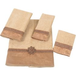 Avanti Rattan Braided Cuff Towel Collection