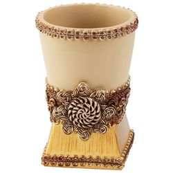 Avanti Braided Medallion Bathroom Tumbler