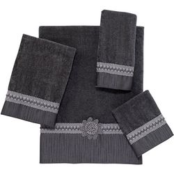 Avanti Granite Braided Cuff Towel Collection