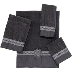 Granite Braided Cuff Towel Collection