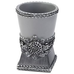 Avanti Granite Braided Medallion Bathroom Tumbler
