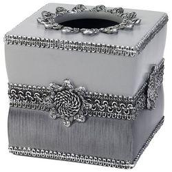 Avanti Granite Braided Medallion Tissue Box Cover