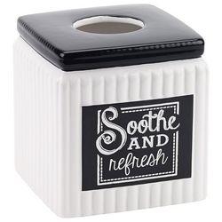 Avanti Chalk It Up Tissue Box Cover