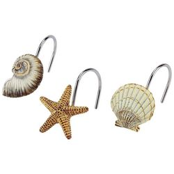 Avanti Antigua 12-pc. Shower Curtain Hooks