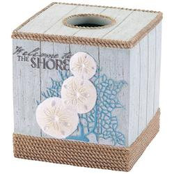 Beachcomber Tissue Box Cover