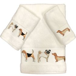 Avanti Dogs On Parade Towel Collection
