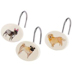 Avanti Dogs On Parade 12-pc. Shower Curtain Hooks