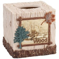 Avanti Nature Walk Tissue Box Cover
