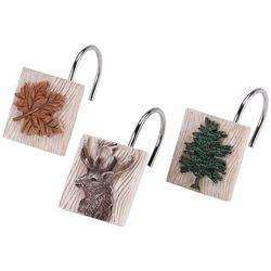 Avanti Nature Walk 12-pc. Shower Curtain Hooks