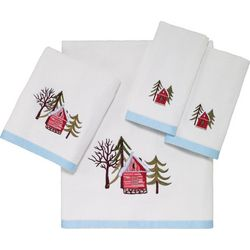 Avanti Christmas Village Towel Collection