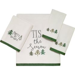 Avanti Christmas Trees Towel Collection