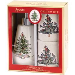 Christmas Tree 3-pc. Bath Gift Set