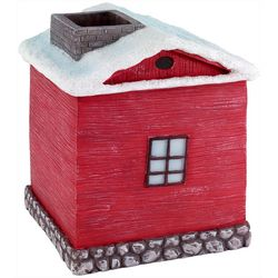 Avanti Christmas Village Tissue Box Cover
