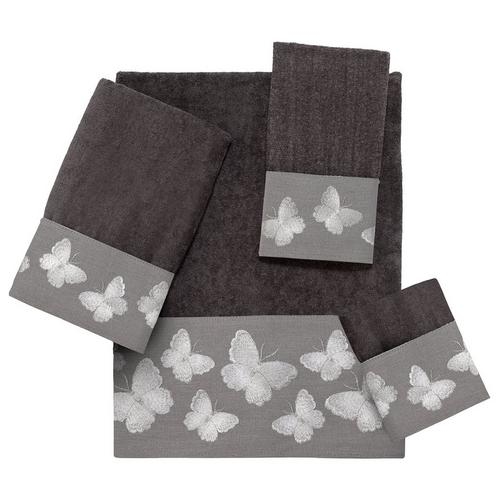 Avanti Linens Galaxy Wash Cloth Granite