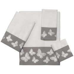 Avanti Yara White Towel Collection