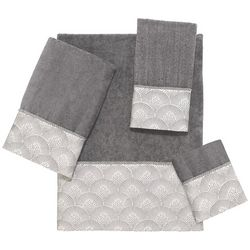 Avanti Deco Shell Nickel Towel Collection