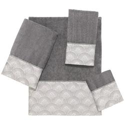 Deco Shell Nickel Towel Collection