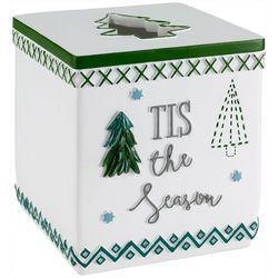 Avanti Christmas Trees Tissue Box Cover