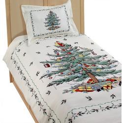 Avanti Spode Christmas Tree Comforter Set