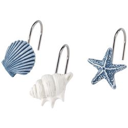 Avanti Abstract Coastal 12-pc. Shower Hooks