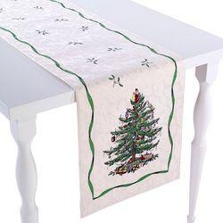 Spode Christmas Tree 108  Inch Table Runner