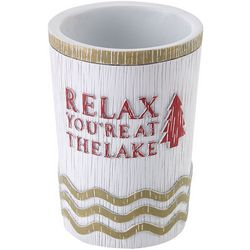 Avanti Lake Words Bathroom Tumbler