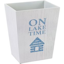 Avanti Lake Words Wastebasket