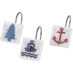 Avanti Lake Words 12-pc. Shower Curtain Hooks
