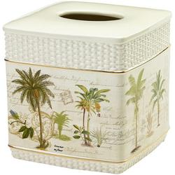 Colony Palm Tissue Box Cover