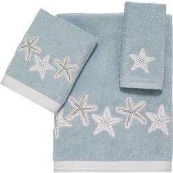 Sequin Shells Towel Collection