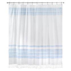 Avanti Hampton Stripe Shower Curtain