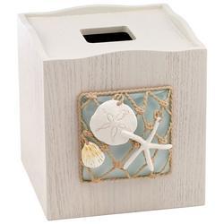 Seaglass Tissue Box Cover