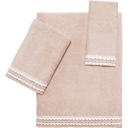 Avanti Medford Crochet Towel Collection