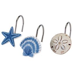 Island View 12-pc. Shower Curtain Hooks