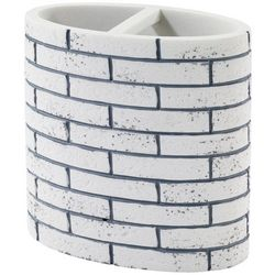 Metro Grey Toothbrush Holder
