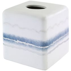 Vapor Silver Tissue Box Cover