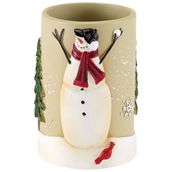 Avanti Snowman Gathering Bathroom Tumbler