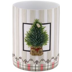 Avanti Farmhouse Holiday Wastebasket